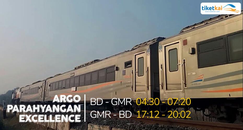 Argo Parahyangan Excellence Waktu Tempuh Lebih Pendek, Gan