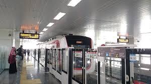 Keren !! Ada LRT di Indonesia.