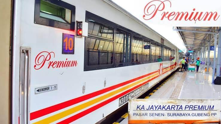 Kereta Api Jayakarta Premium, kereta ekonomi rasa eksekutif.