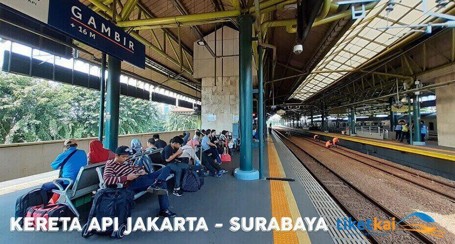 tiket kereta jakarta-surabaya