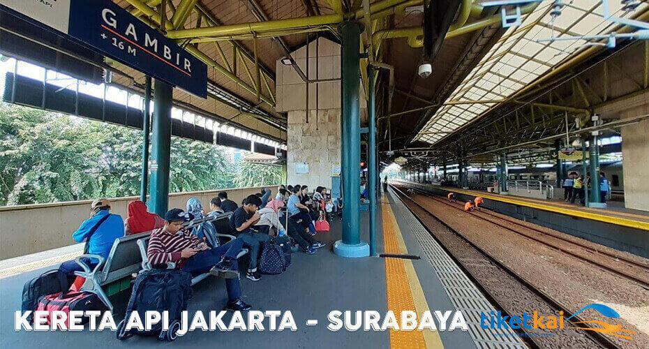 Tiket Kereta Api Jakarta – Surabaya