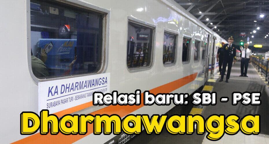 Kereta Api Baru Dharmawangsa