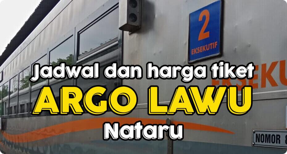 Jadwal & Harga Kereta Api Argo Lawu New Image