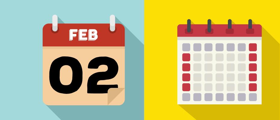 kalender libur februari 2020