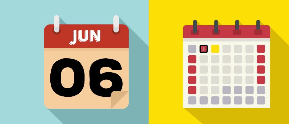 kalender libur juni 2020