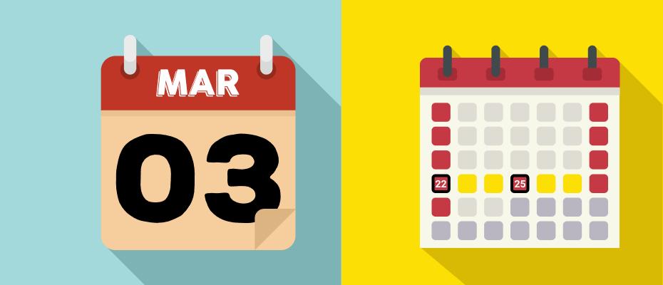 kalender libur maret 2020