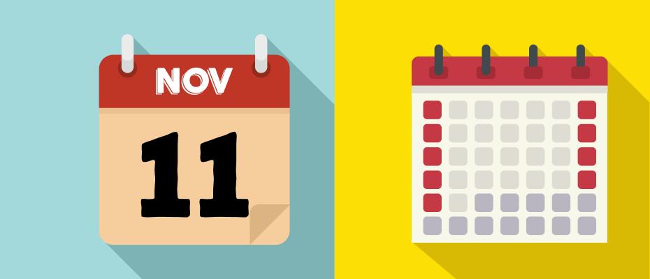 kalender libur november 2020