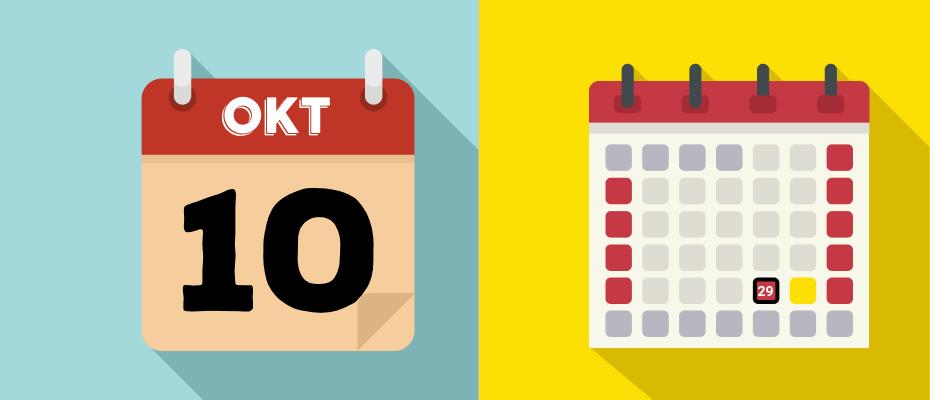 kalender libur oktober 2020