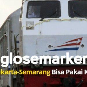 Inilah Rute Joglosemarkerto, Yogyakarta-Semarang Bisa Pakai Kereta