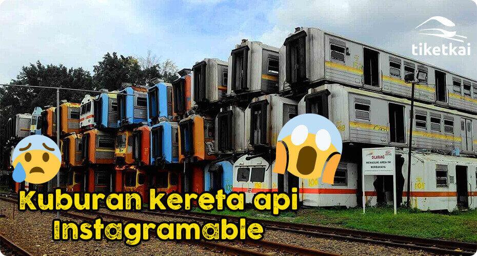 kuburan kereta api indonesia