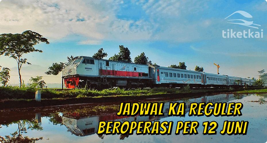 jadwal kereta api reguler