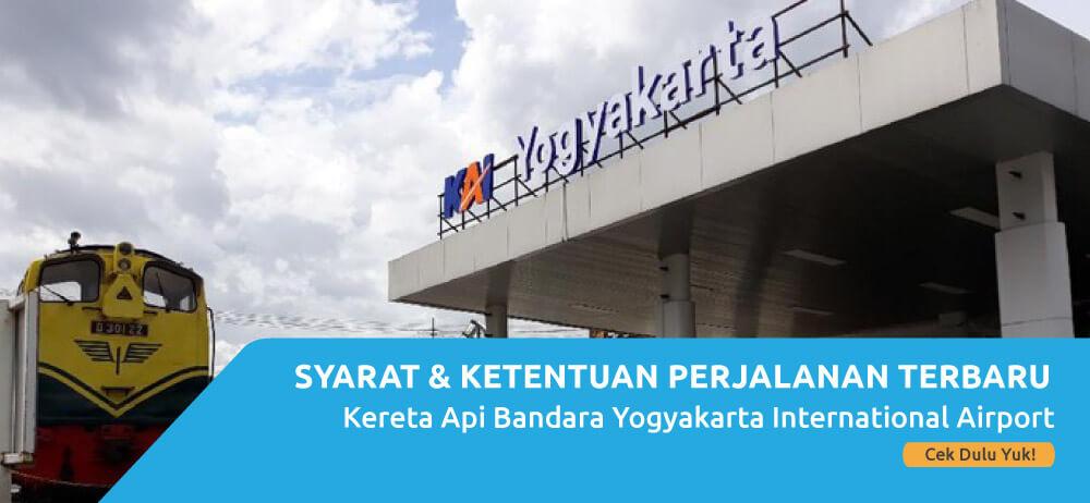 Ini Syarat & Ketentuan Perjalanan KA Yogyakarta International Airport