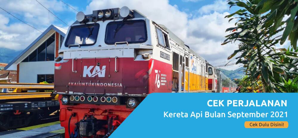 Jadwal Perjalanan Kereta Api Jarak Jauh Untuk Bulan September 2021