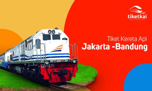 Tiket Kereta Api Jakarta Bandung