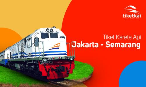 Tiket Kereta Api Jakarta Semarang
